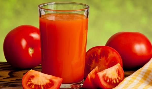 Рецепт как сделать томатный сок из помидор на зиму 660